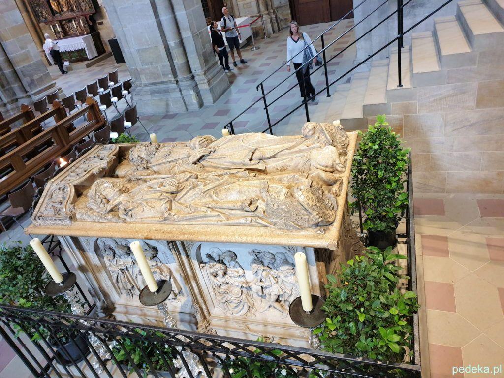 Grobowiec Henryka II i Kunegundy w katedrze w Bambergu