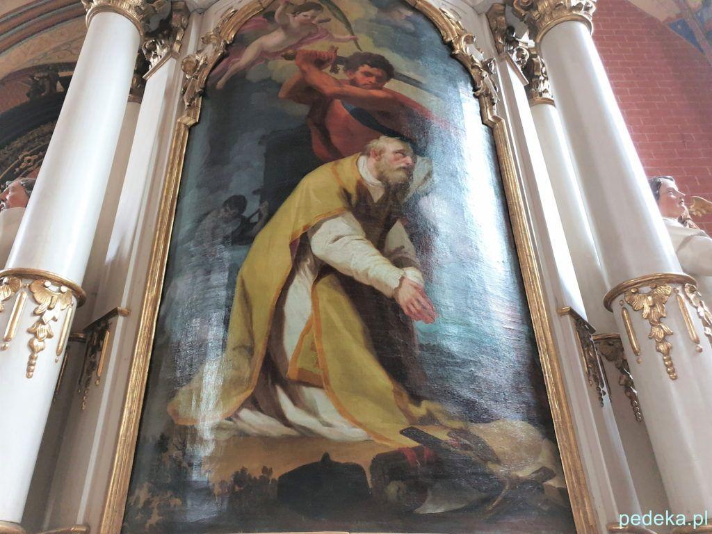 Obraz w ołtarzu św. Walentego
