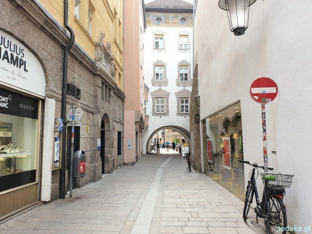 Innsbruck. Stare Miasto