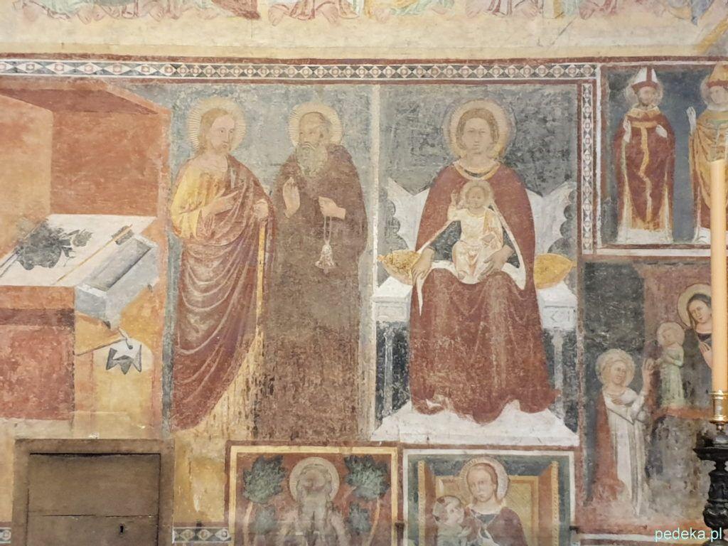 Fresk w kościele