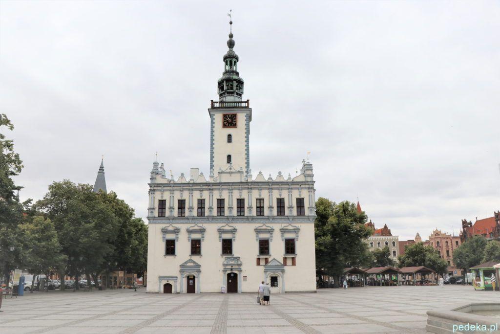 Ratusz w Chełmnie, w nim właśnie mieści się muzeum