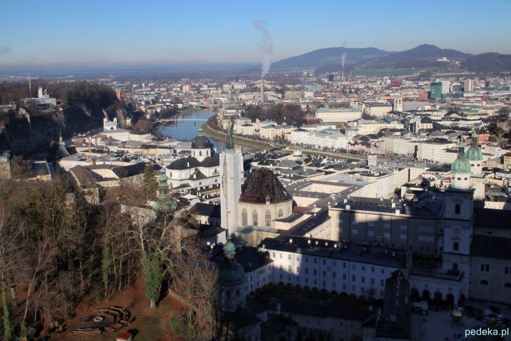 Salzburg widok z góry