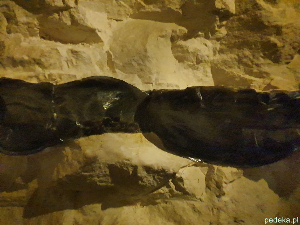 Krzemień w skale