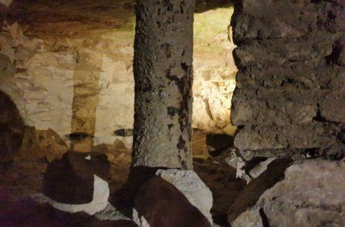 Krzemionki Opatowskie. Pod ziemią