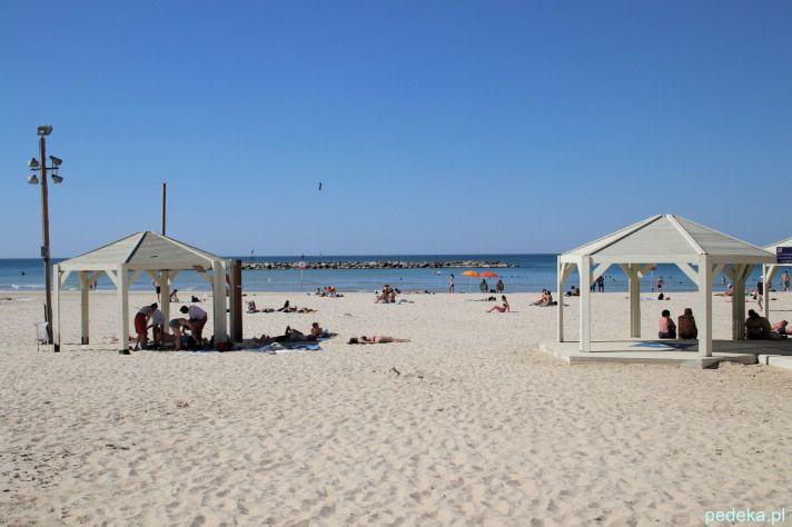 Tel Awiw na plaży