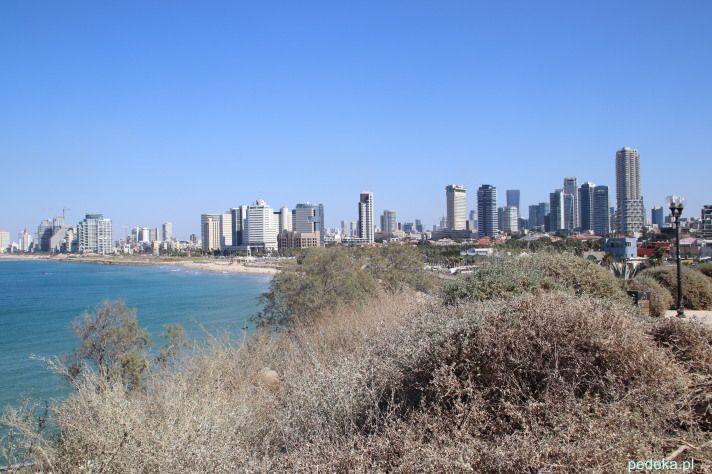 Tel Awiw widok z Jafy