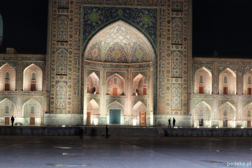 Samarkanda, widowisko światło-dźwięk