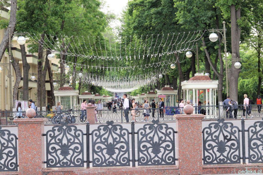 Uzbekistan nasza wycieczka, w centrum Taszkientu