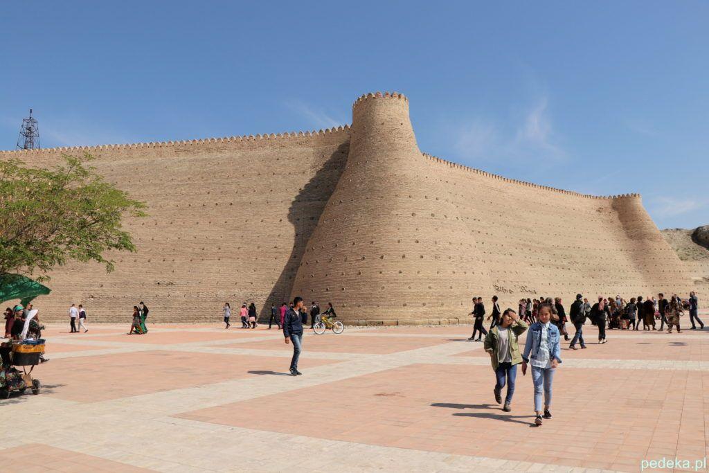 Buchara, mury twierdzy