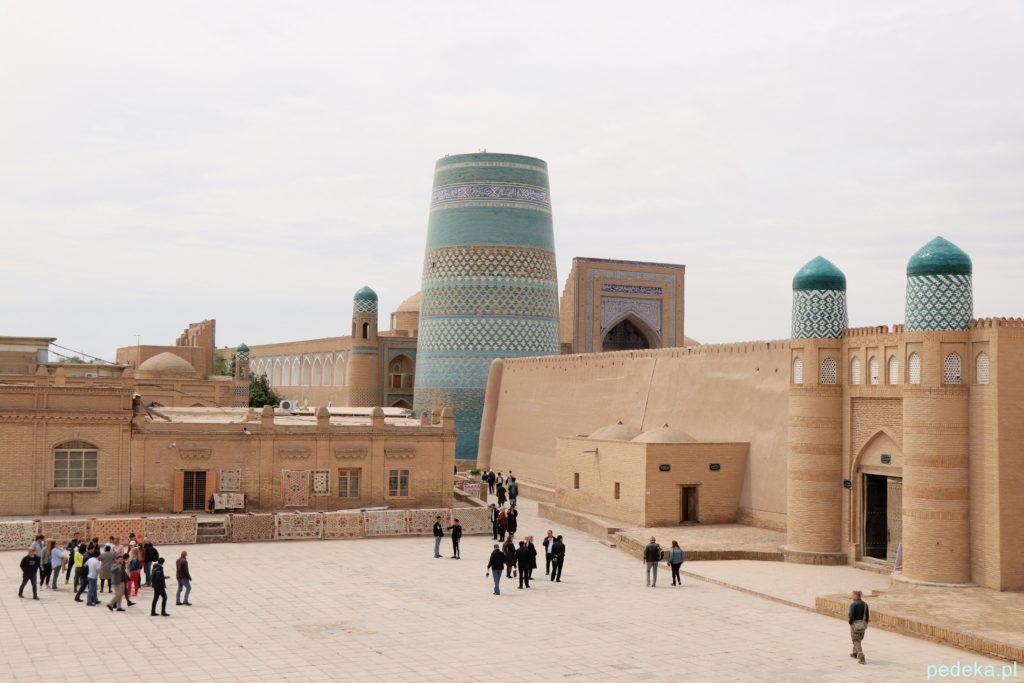 Uzbekistan nasza wycieczka, Chiwa wewnątrz murów miejskich
