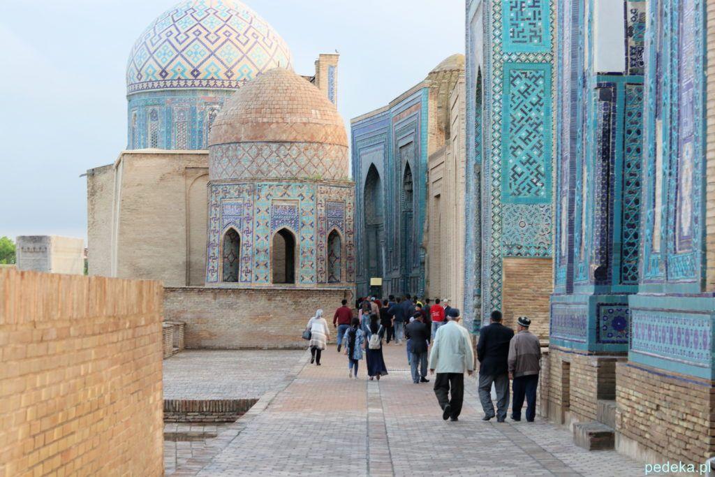 Uzbekistan nasza wycieczka, Samarkanda