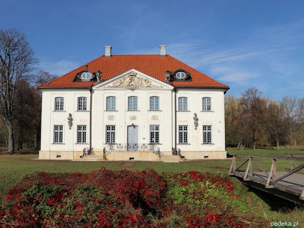 Pałac w Choroszczy od frontu