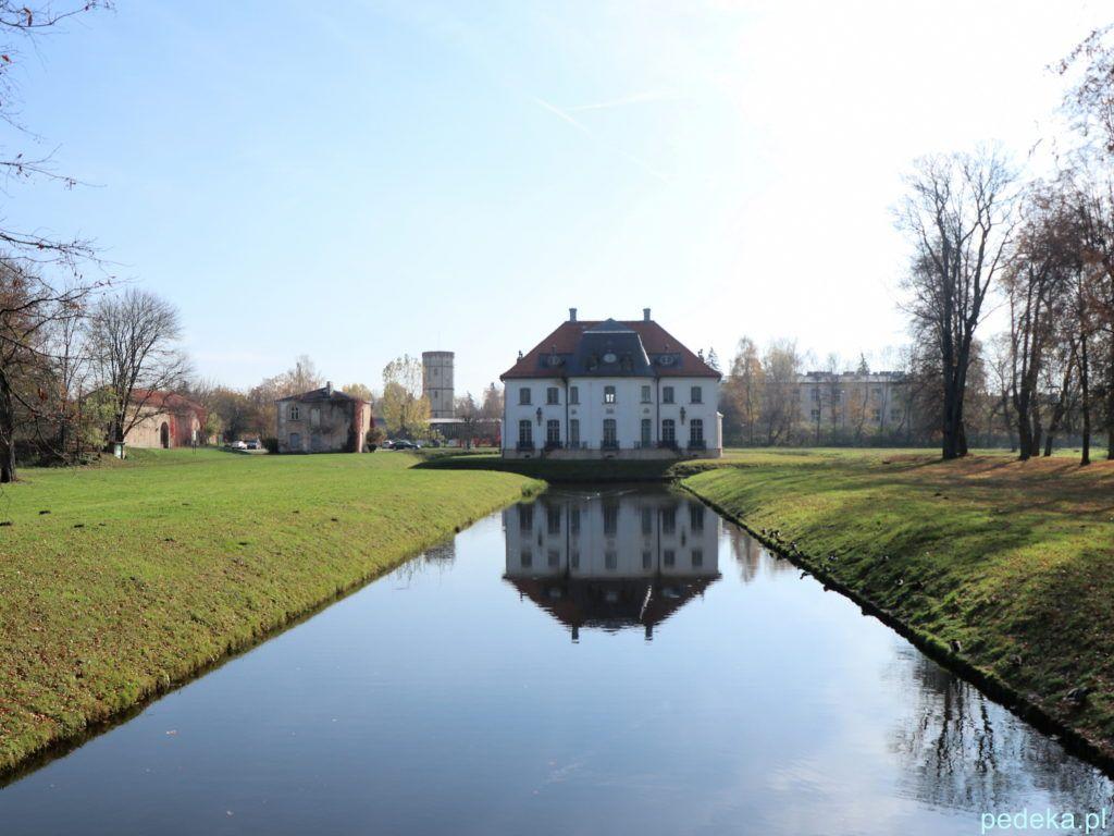 Pałac w Choroszczy. Pałac od strony parku