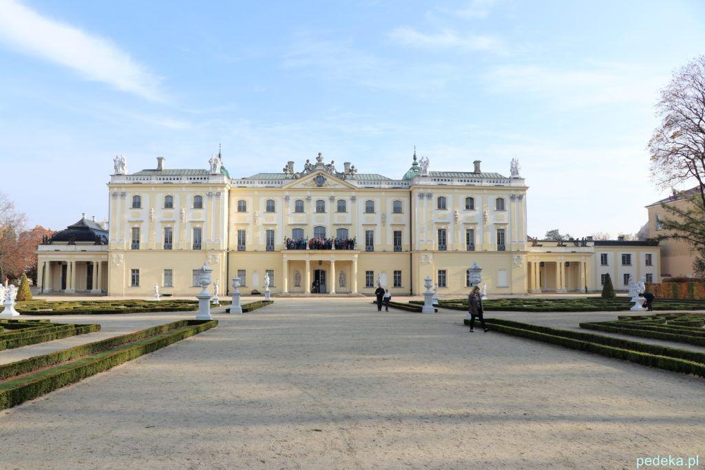 Białystok. Pałac od strony ogrodów