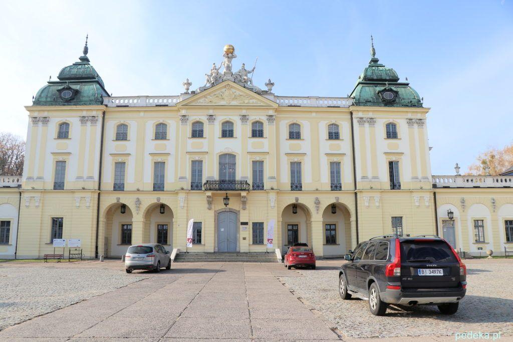 Białystok. Pałac od strony frontu
