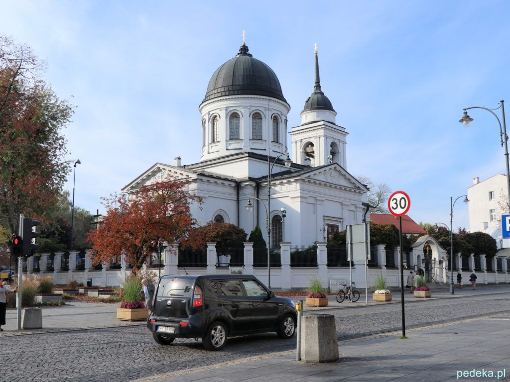 Białystok. Cerkiew katedralna św. Mikołaja