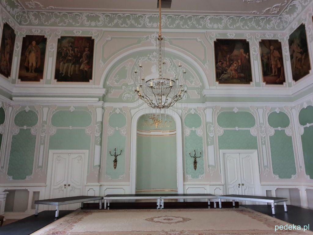 Białystok. Pałac Branickich, aula