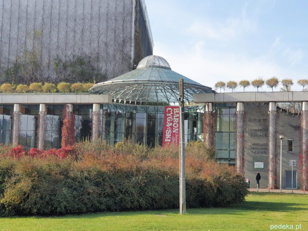 Białystok. Budynek opery