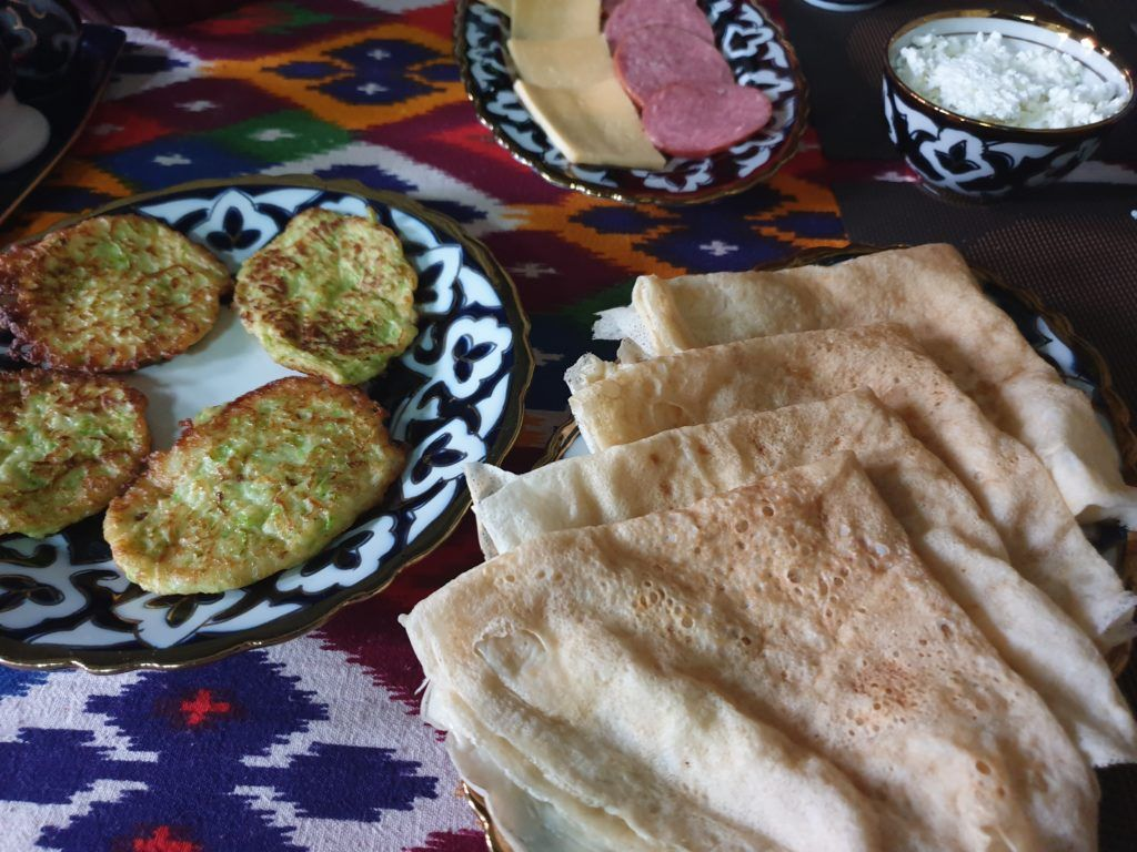 Śniadanie w Samarkandzie