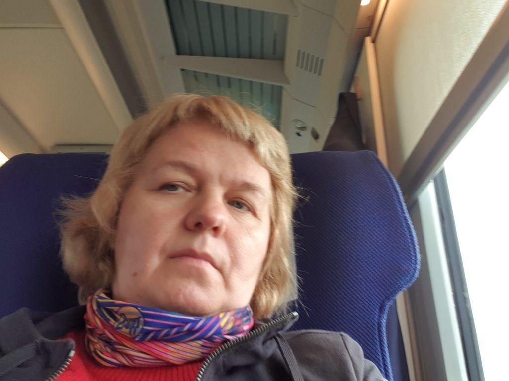 W pociągu w Uzbekistanie