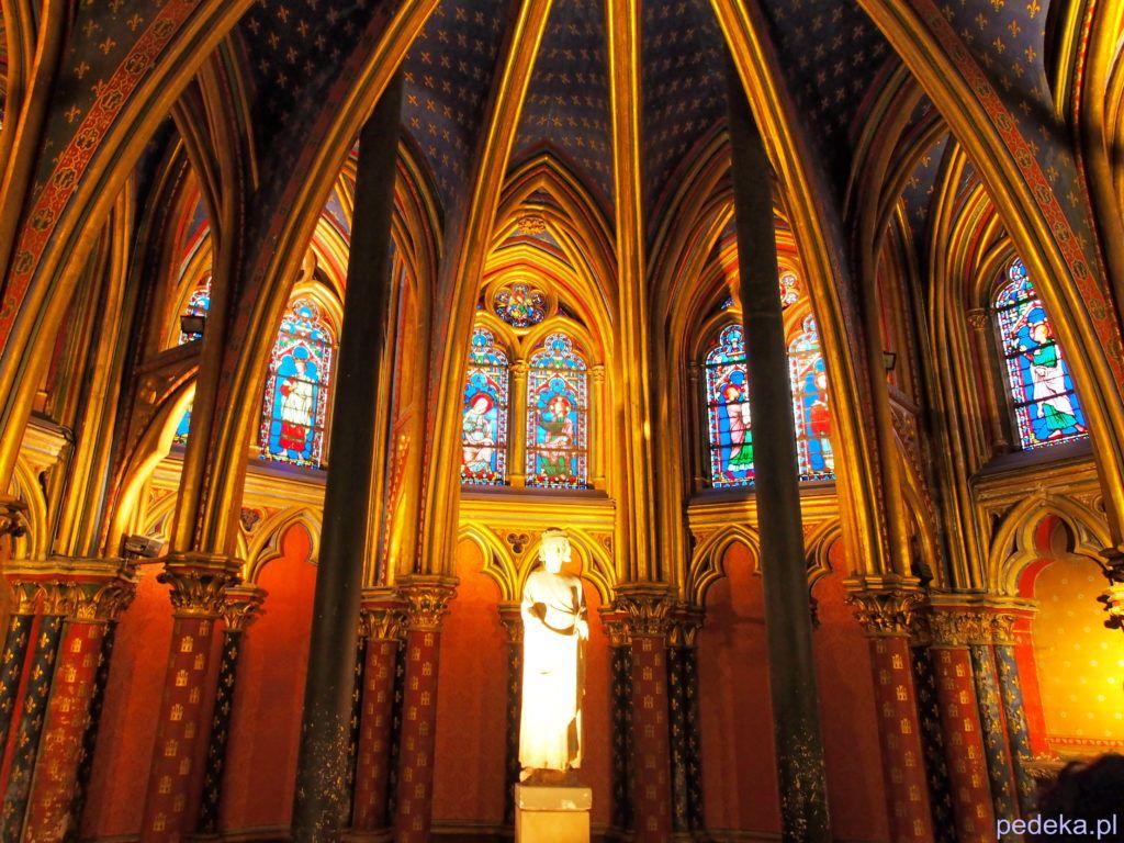 Paryż. Sainte Chapelle