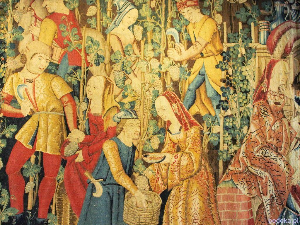 Jeden dzień w Paryżu. Muzeum Sztuki Średniowiecznej, jeden z arrasów