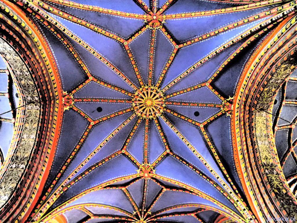 Piękne sklepienie w katedrze