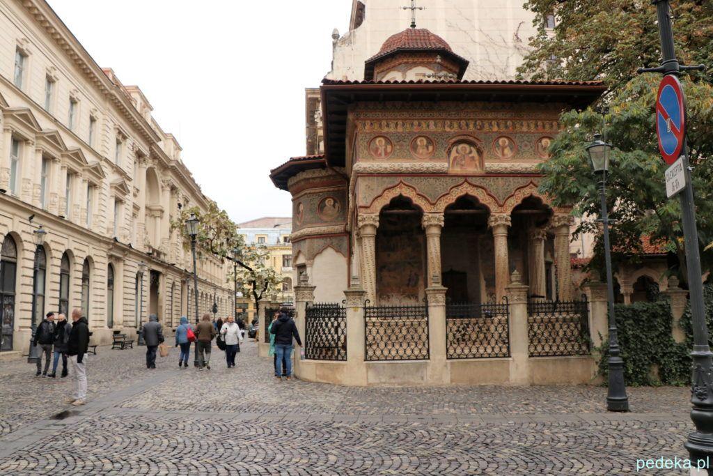 Bukareszt Stare Miasto, cerkiew Stawropoleos