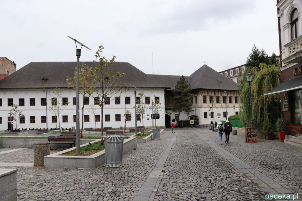 Bukareszt Stare Miasto Restauracja Hanului Manuc