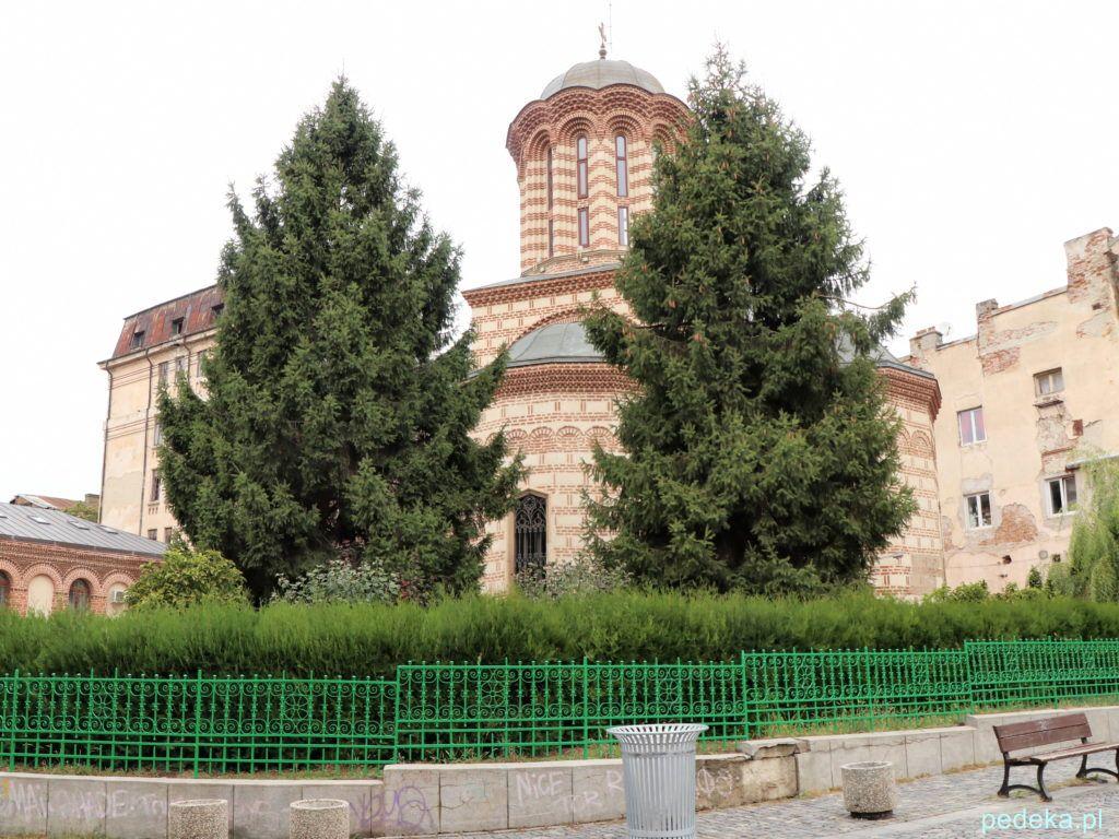 Bukareszt Stare Miasto. Cerkiew św. Antoniego