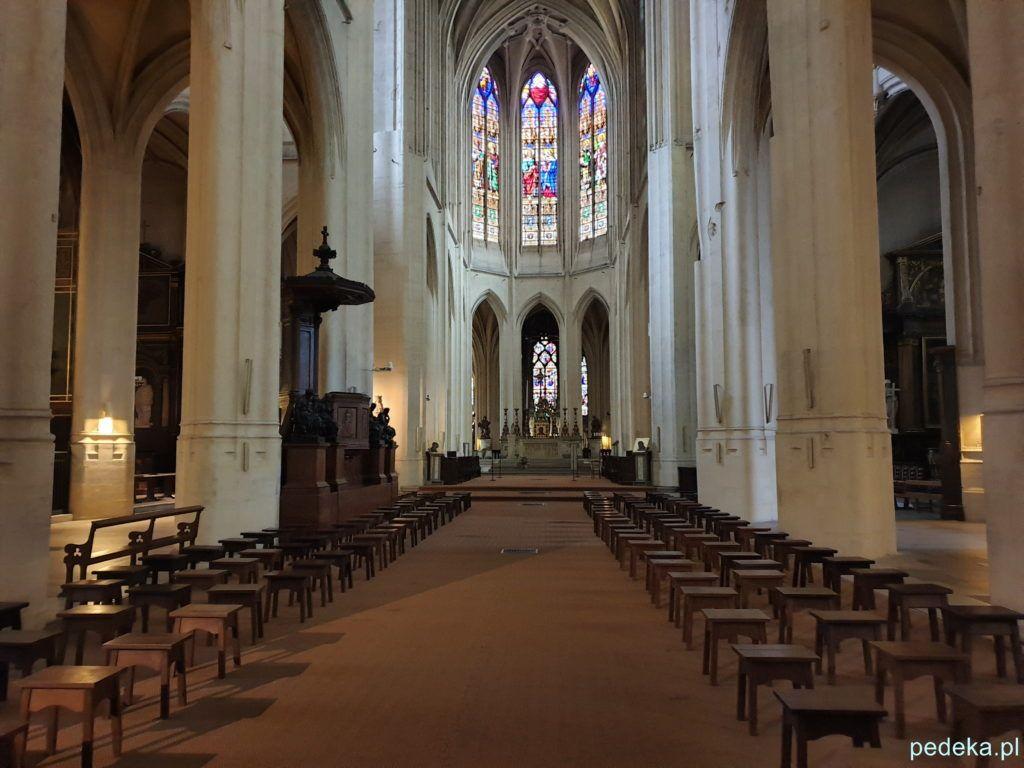 Gotyckie wnętrze
