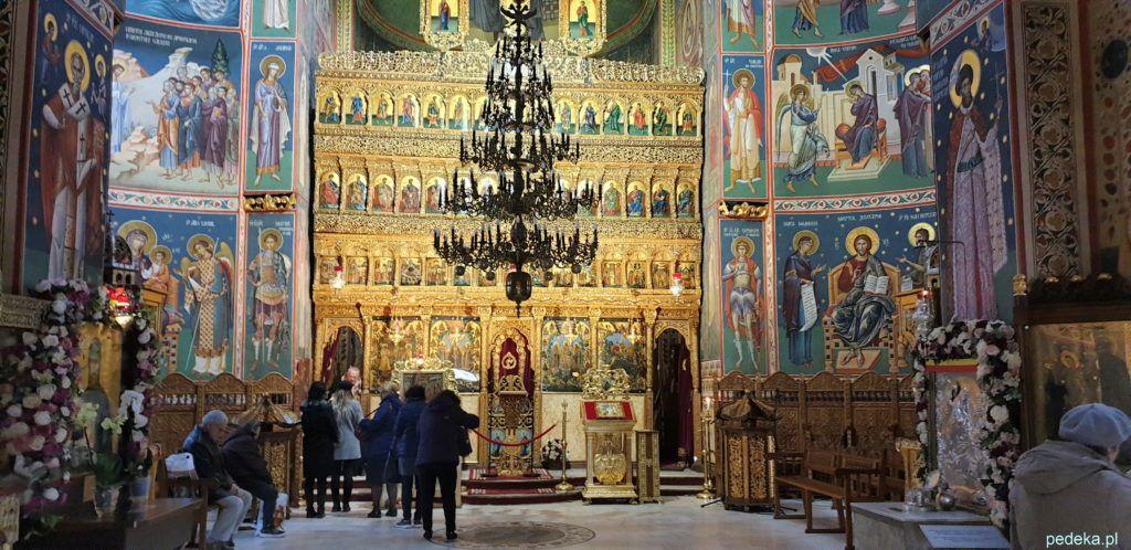 Cerkiew św Jerzego. Cudowne wnętrze