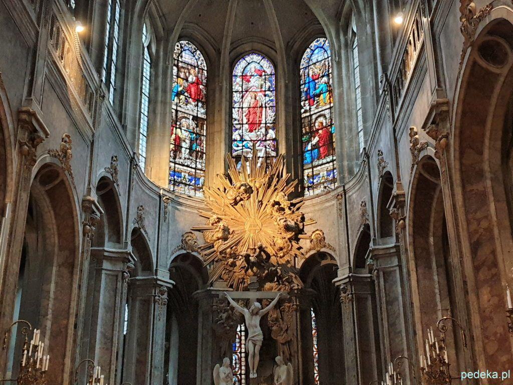 Ołtarz w kościele św. Mederyka