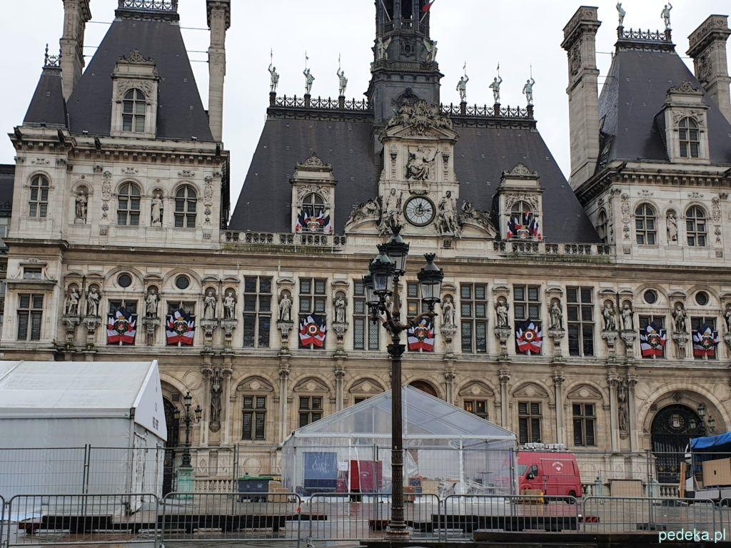 Paryż Le Marais. Ratusz