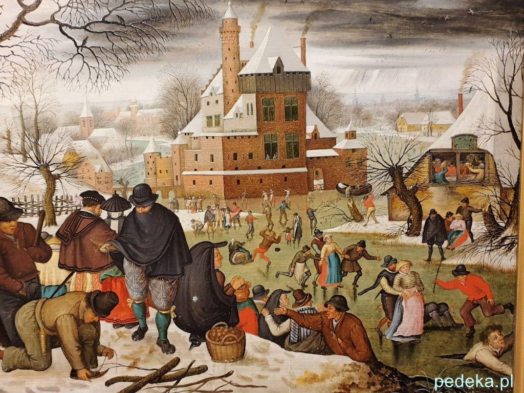 Peter Breughel Młodszy Zima