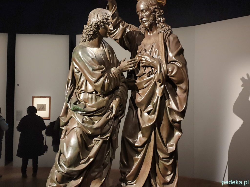 Leonardo da Vinci wystawa w Paryżu. Chrystus i św. Tomasz Andrea del Verrocchio