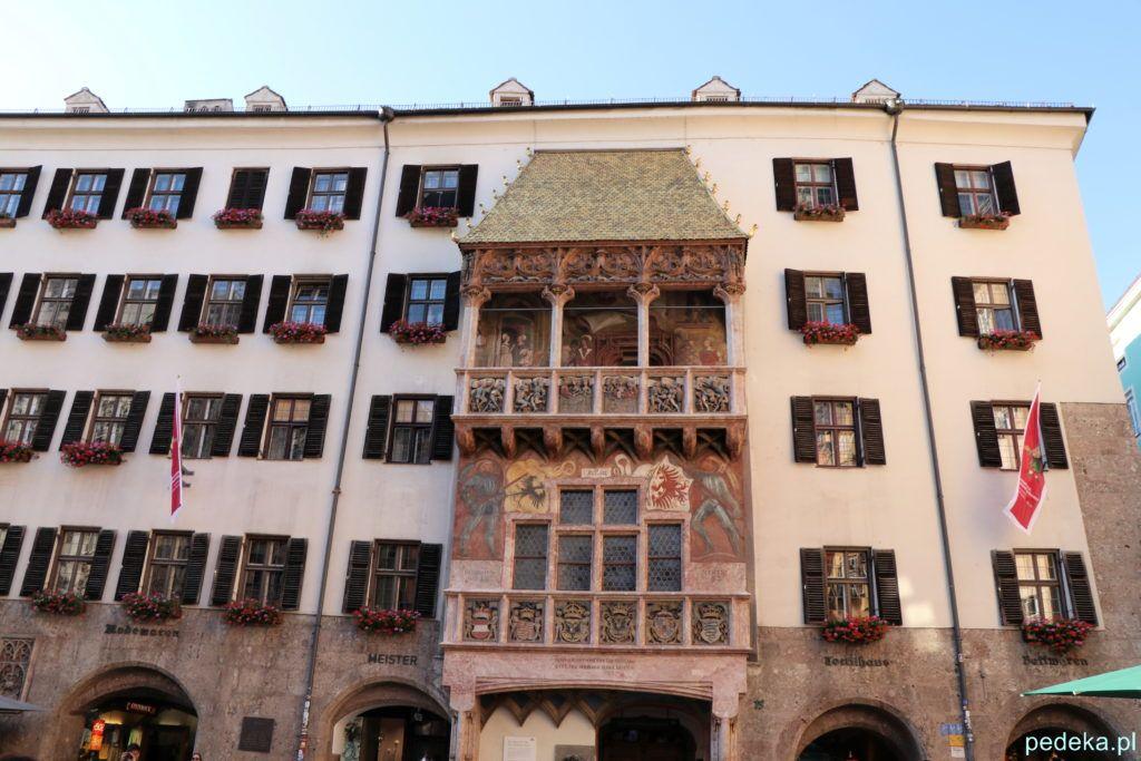 Jeden dzień w Innsbrucku. Złoty Daszek