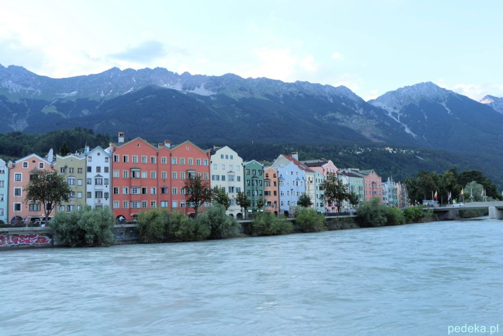 Jeden dzień w Innsbrucku. Nad rzeką Inn