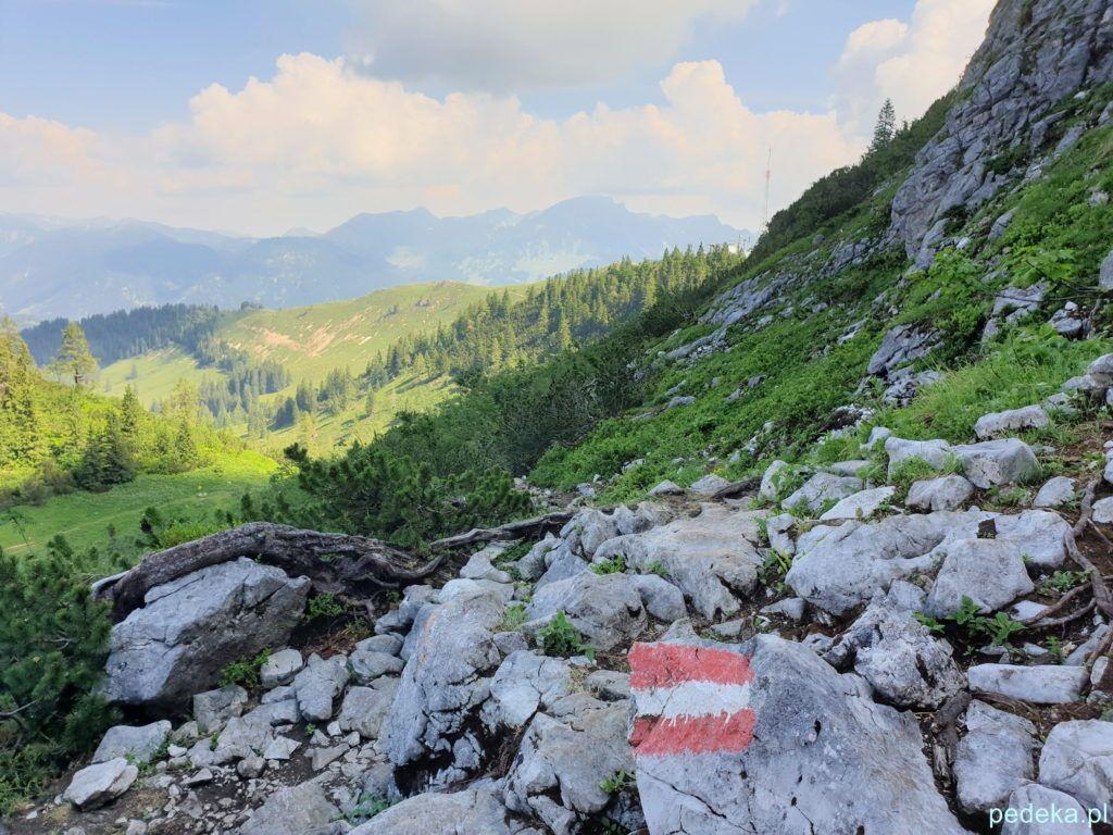 Alpy w okolicach Salzburga. Nasza pierwsza trasa