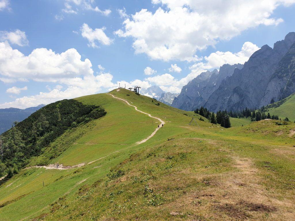 Alpy w okolicach Salzburga. Nasza druga trasa