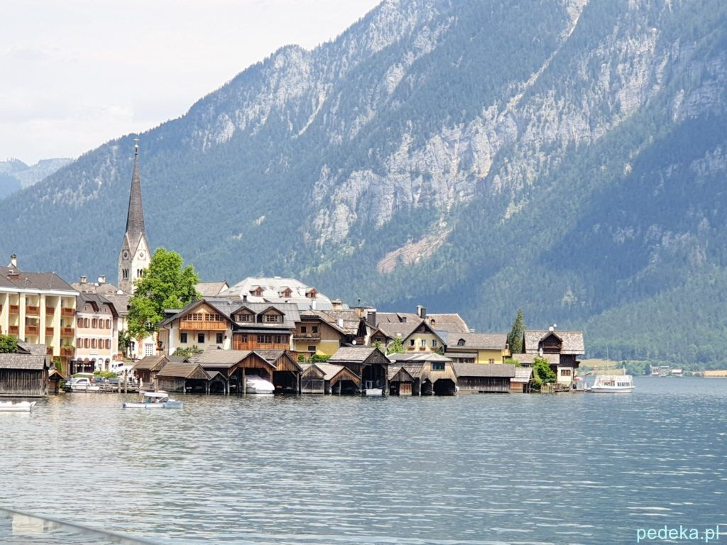 Alpy w okolicy Salzburga. Hallstatt