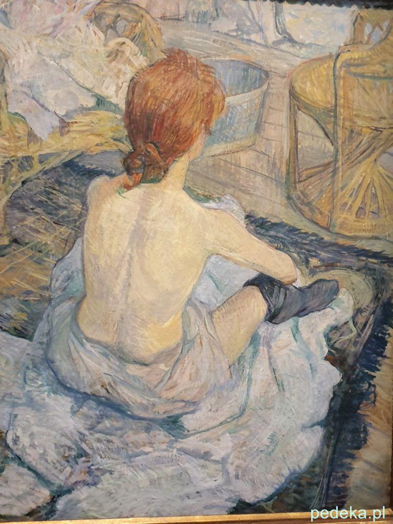 Henri Toulouse Lautrec.  Obraz - Toaleta