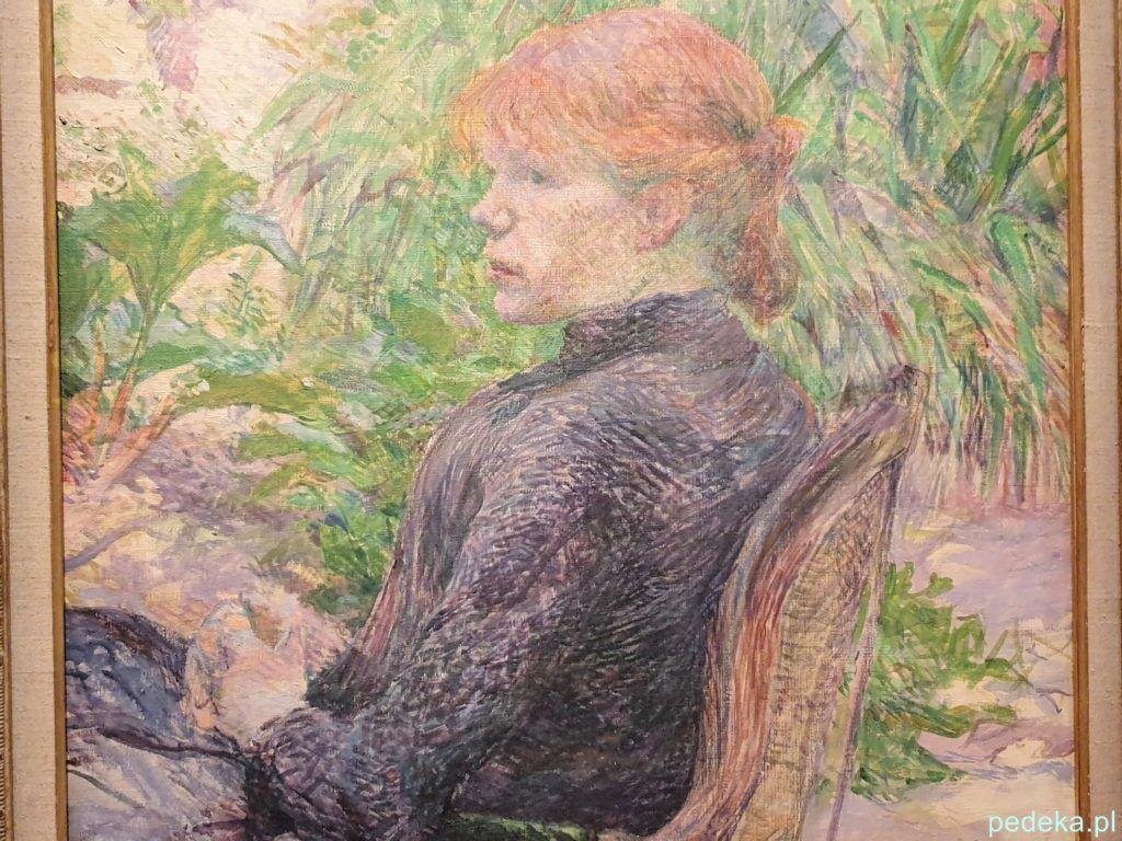 Henri Toulouse Lautrec. Prtret
