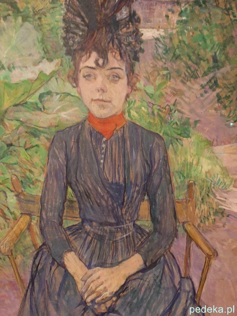 Henri Toulouse Lautrec. Portret