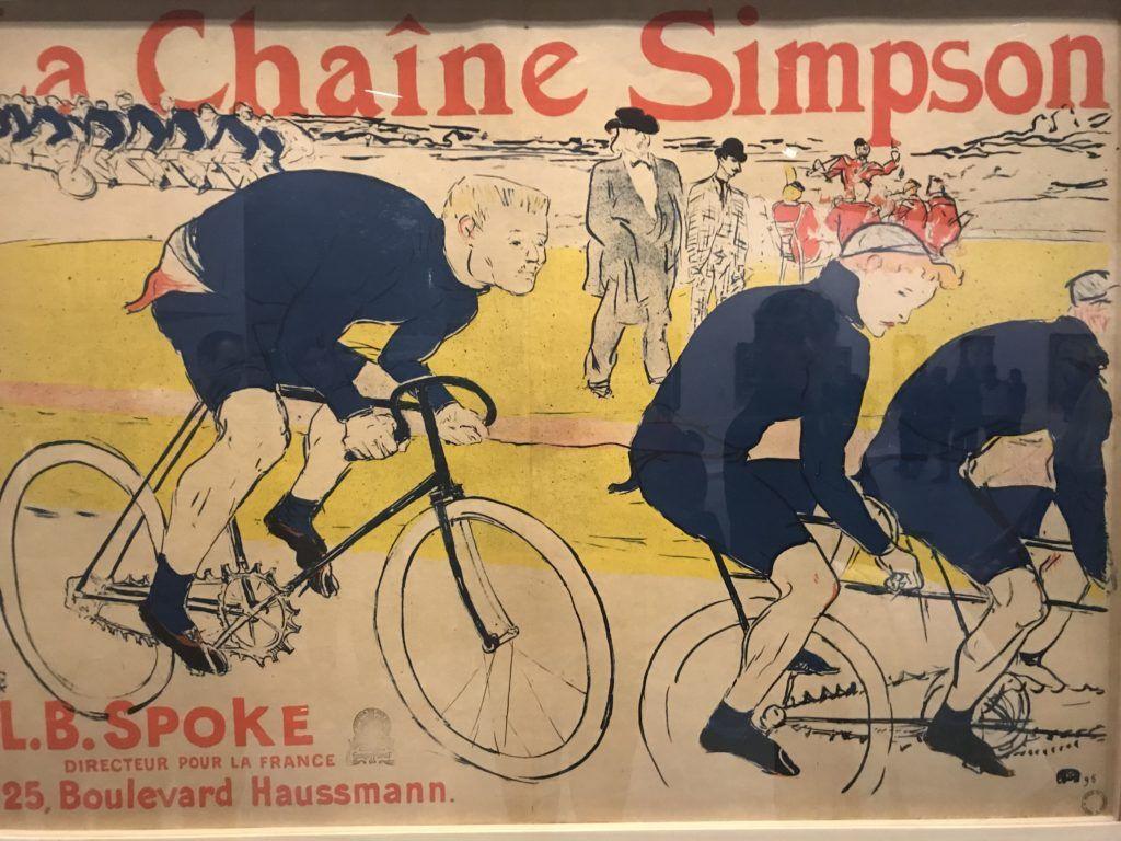 Henri Toulouse Lautrec. Plakat sportowy