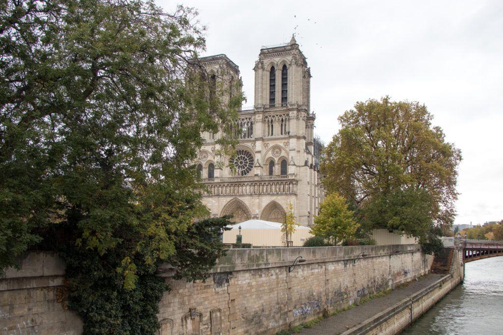 Katedra Notre Dame. Wieże raz jeszcze