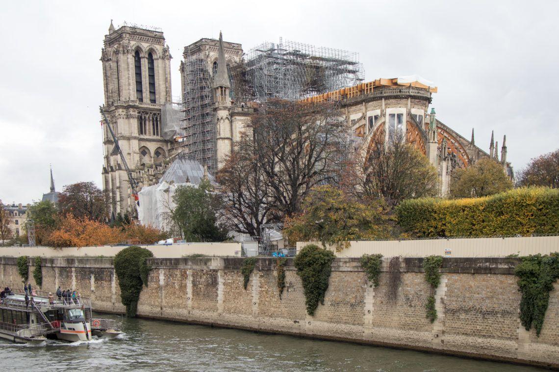 Katedra Notre Dame. Tu najbardziej widać zniszczenia