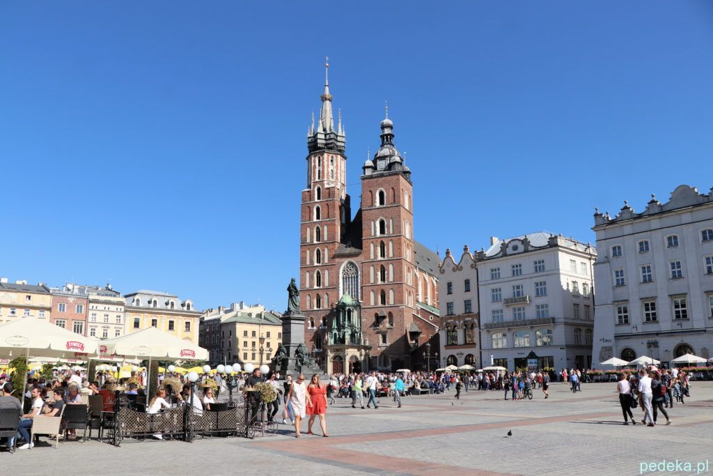 Weekend w Krakowie. Kościół Mariacki