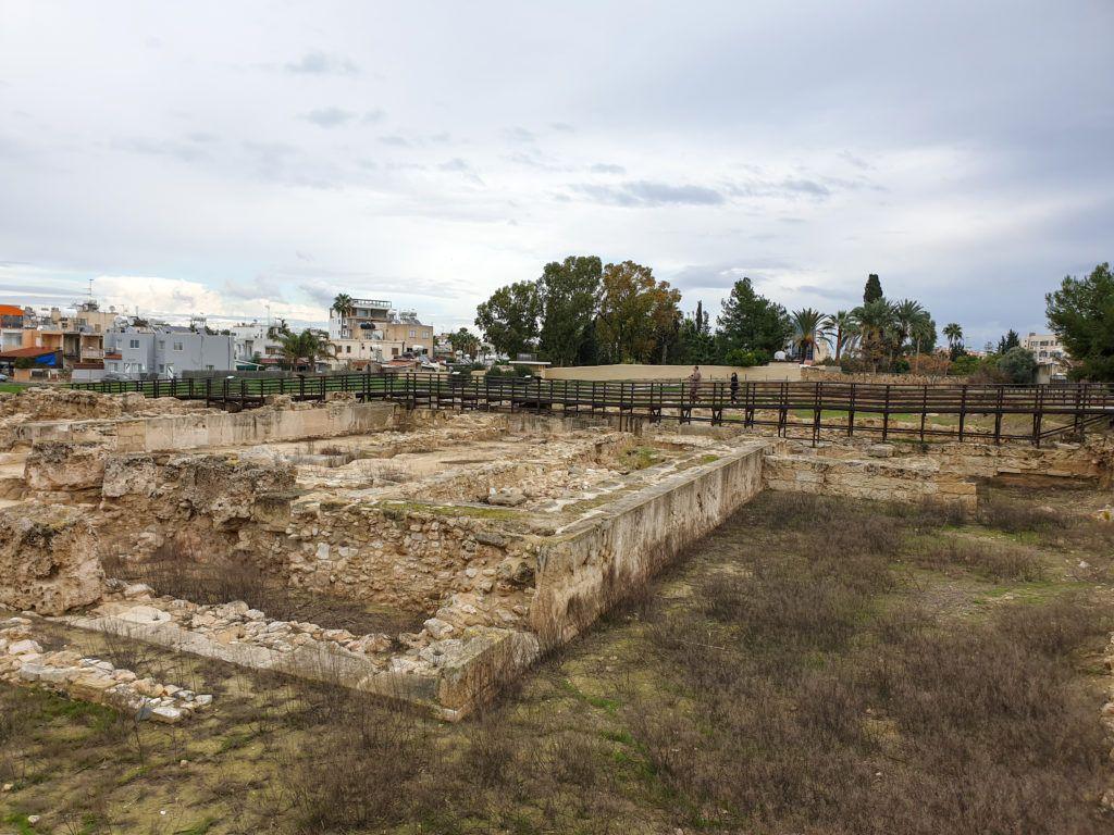 Larnaka. Wspomniane ruiny