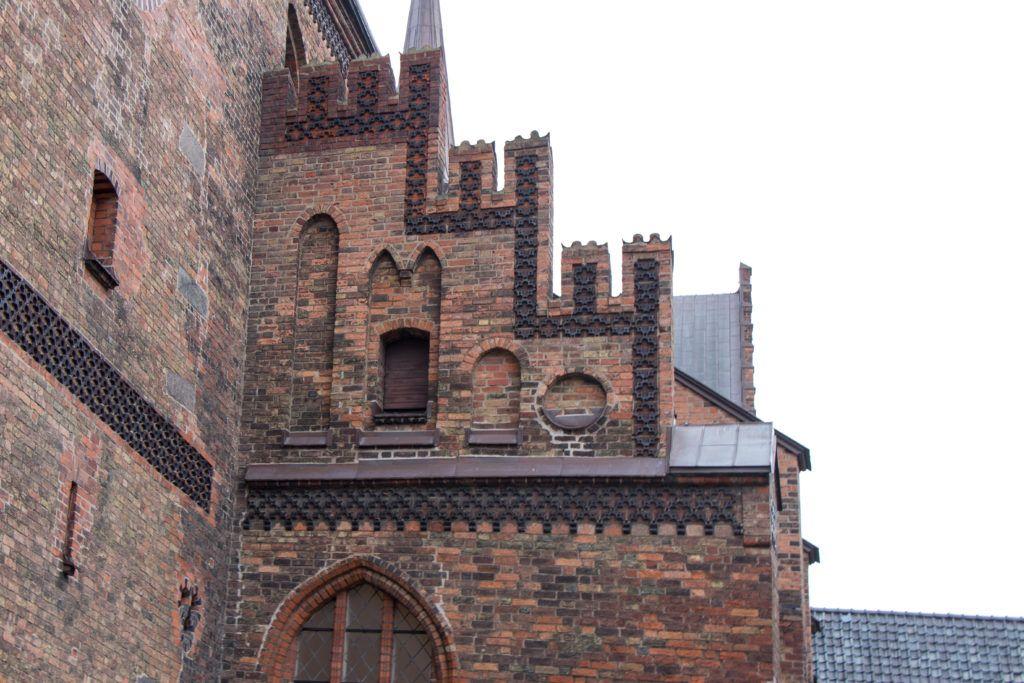 Malmö. Ściana kościoła św. Piotra